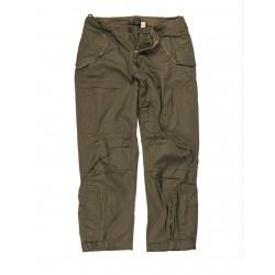 Pantaloni da volo in cotone POPELINE prelavati 10 tasche