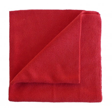 ROTWEISS microfiber cloth Lasercut Red