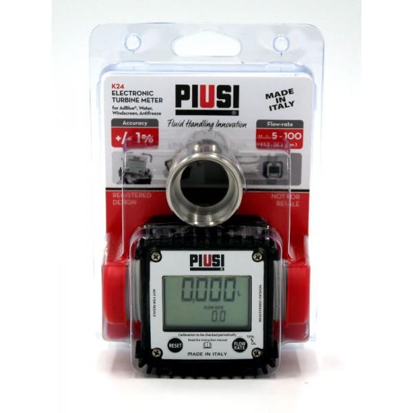 Digital Flow Meter : Piusi k digital flow meter water adblue antifreeze