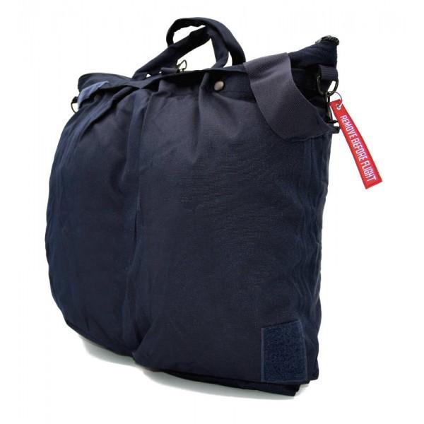 Flight Helmet Bag Without Shoulder Belt Navy Blue