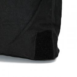Flight helmet bag with shoulder belt - black