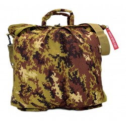 "Flight helmet bag with shoulder belt - Italian Army ""Vegetato"" camo"