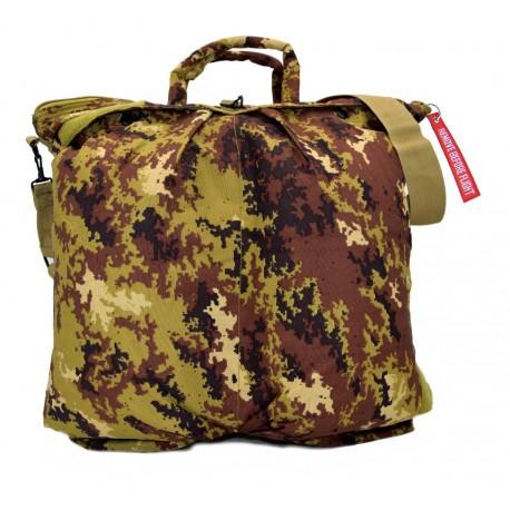 "Flight helmet bag with shoulder belt - Italian Army ""Vegetato"" camo"