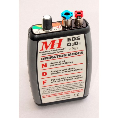 MH O2D1 Portable pulse demand O2 Systems with Cylinders
