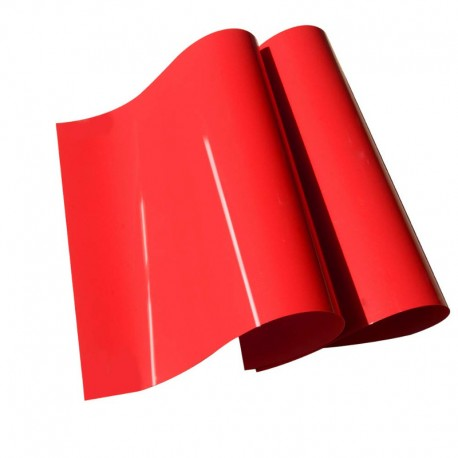 High visibility red sheet 60 x 100 cm