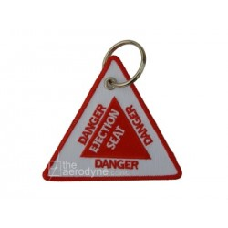 Keychain DANGER DO NOT PULL- EMERGENCY USE ONLY
