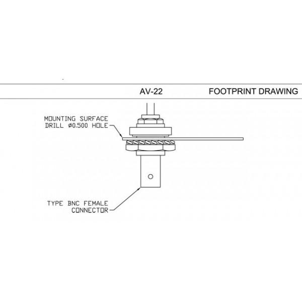 RAMI AV-74 transponder fin antenna - The Aerodyne com