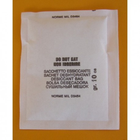 Silica gel desiccant bags for instruments