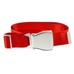 "Cintura pantaloni ""Seat Belts"" rossa"